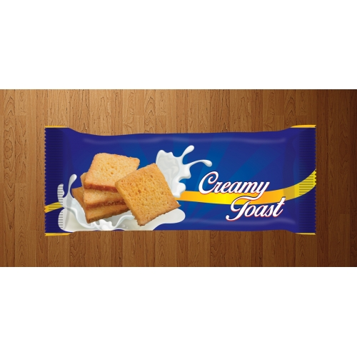 Creamy packaging