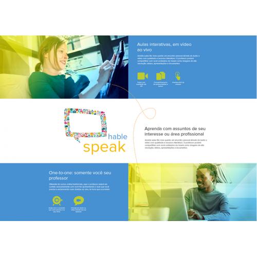Language learning portal