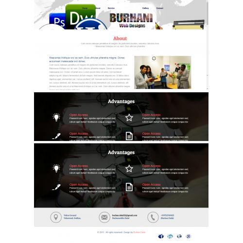 Get the quality designs for your website.