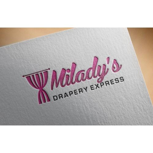 Milady's Drapery - Logo Design