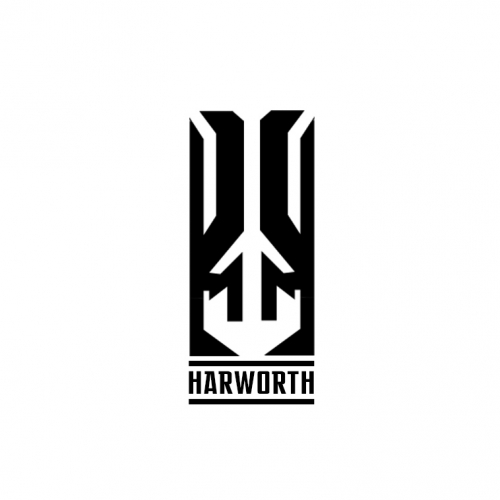 Harworth Symbol Logo Design