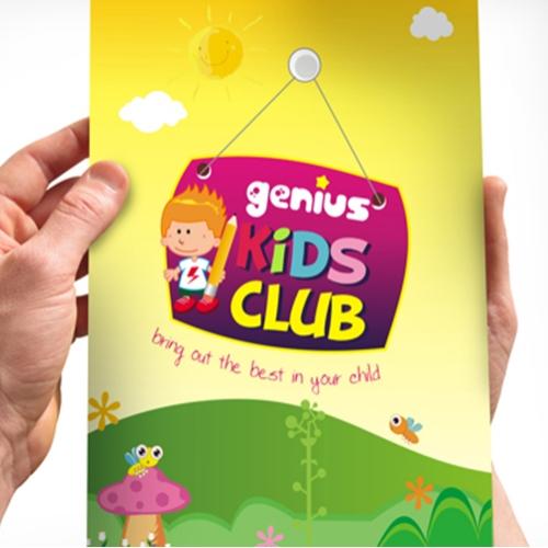 GENIUS KIDS CLUB FILE FOLDER DESIGN