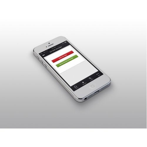 Manager App Screen